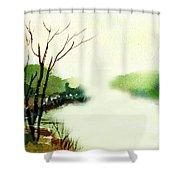 Fog1 Shower Curtain