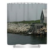 fogBound Shower Curtain