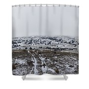 Foggy Battle Shower Curtain