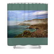 Foggy Day At Big Sur Shower Curtain