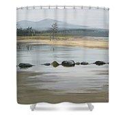 Foggy Day Shower Curtain