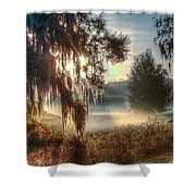 Foggy Dreamworld 2 Shower Curtain