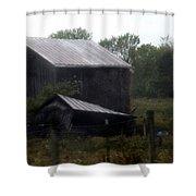 Foggy Farm Shower Curtain