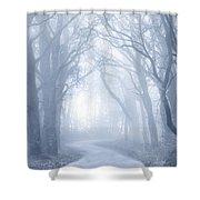 Foggy Holloway Shower Curtain