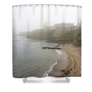 Foggy March In St. Andrews Shower Curtain