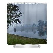 Foggy Morning In Alva Florida Shower Curtain