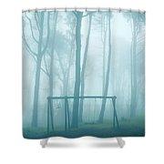 Foggy Swing Shower Curtain