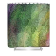 Folding Time Shower Curtain