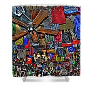 Foley's Pub In Manhattan Shower Curtain