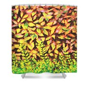 Foliage 1 Shower Curtain