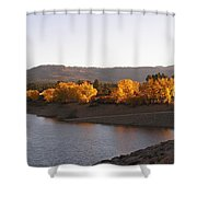 Foliage At Jackson Lake Shower Curtain