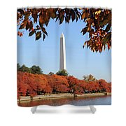 Foliage Potomac Shower Curtain