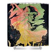 Folies Bergeres Shower Curtain