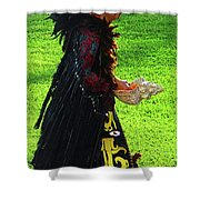 Folk Costume In Mexico 2 Shower Curtain