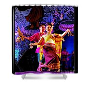 Folk Dancing Of Isaan Shower Curtain
