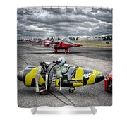 Folland Gnat  Shower Curtain