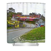 Follow The Art Road Shower Curtain