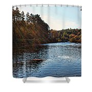 Follow The River Shower Curtain