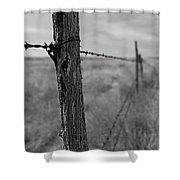 Follow The Wire Shower Curtain