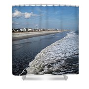 Folly Beach Charleston Sc Shower Curtain