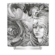 Fomorii King And Queen Shower Curtain