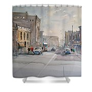 Fond Du Lac - Main Street Shower Curtain