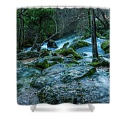 Fontaine De Vaucluse IIII Shower Curtain