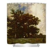Fontainebleau Oaks 1840 Shower Curtain