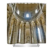 Fontevraud Abbey Chapel, Loire, France Shower Curtain