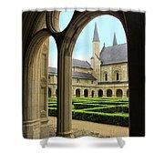 Fontevraud Abbey Shower Curtain