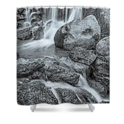 Fontus, The Roman God Of Wells And Springs  Shower Curtain