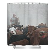 Food For Thought Shower Curtain