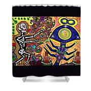 Food Of The Gods Shower Curtain