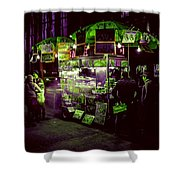 Food Stand Shower Curtain