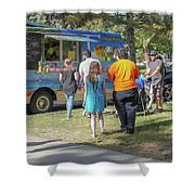 Food Truck Shower Curtain