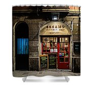 Food Without Beasts Shower Curtain