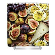 Foodie Phone Case Shower Curtain