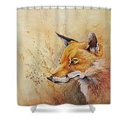 Foolish Fire Shower Curtain
