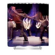 Foot Stomping Dance Shower Curtain