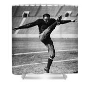 Football, 20th Century Shower Curtain