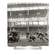 Football Game, 1916 Shower Curtain