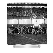 Football Game, 1925 Shower Curtain