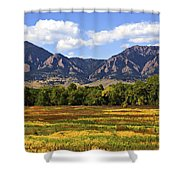 Foothills Of Colorado Shower Curtain