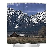 Foothills Of The Tetons Shower Curtain