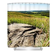 Foothills View Shower Curtain
