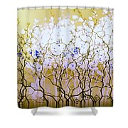 For A Hundred Years She Slept Shower Curtain