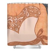 For A Wedding In May Or June Shower Curtain