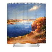 For Candie Shower Curtain