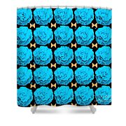 For Every Blue Rose There Is A Butterfly Shower Curtain