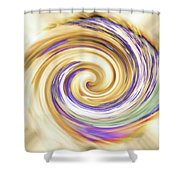 Gelsomina's Ingenuous Spirit Shower Curtain